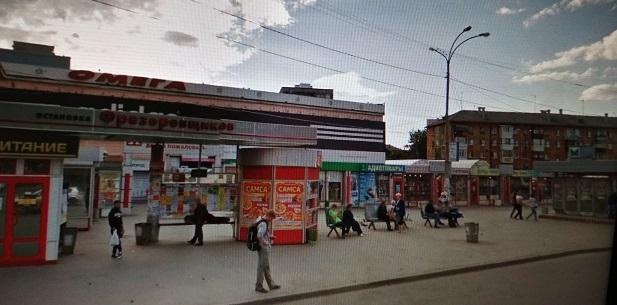 Место  отправления автобуса  из г. Екатеринбурга от метро пр. Космонавтов , остановка Фрезеровщиков   - рынок Омега в сторону Центра